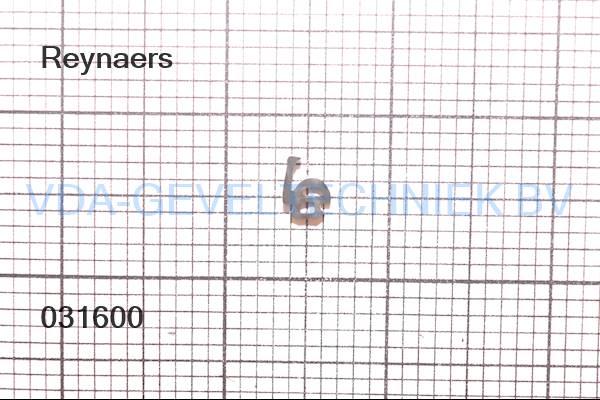 Rubber Type 316. Reynaers afdichting 080.9003.04 (Gummi)