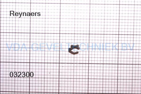 Rubber Type 323. Reynaers aanslagdichting deur 080.9443.04 (Afdichting) (Gummi)