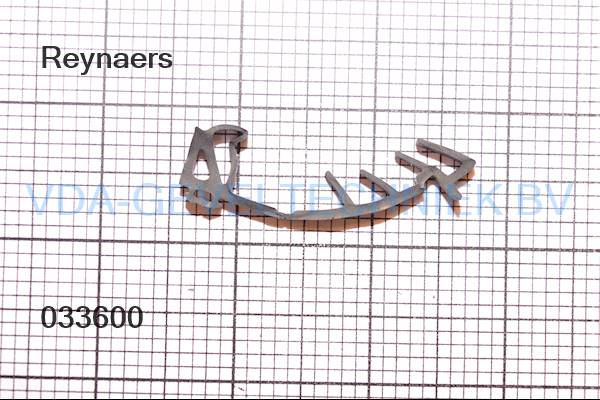 Rubber Type 336. Reynaers beglazingsdichting. (Afdichting) (Gummi)
