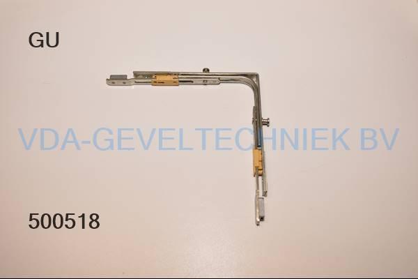 GU hoekoverbrenging (Eckumlenkung) 2 x padnok 6-27459-00-0-1