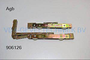AGB HS loopwagen set 150 KG (hef schuifdeur) (schuif hefdeur)