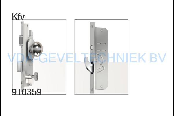KFV onderdeel AS4900 meerpuntssluiting 40/92/16/ 2170mm  2x haak krukbediend