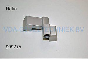 Dr Hahn 3-delig scharnier 60AT 78x36MM Zilver/EV1