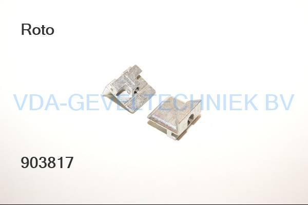 Roto  rolnoksluitplaat  alu V.02 9 mm AL