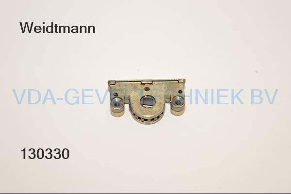 Weidtmann  losse slotkast t.b.v. espagnolet schneckengehäuse schroefbaar