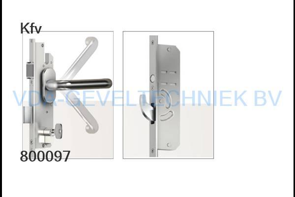 KFV AS4600-P6 meerpuntssluiting  35/92U22-8mm 2170mm