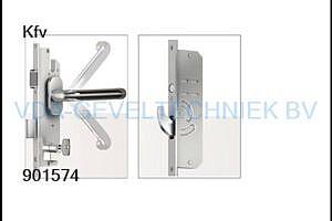 De Vries/KFV meerpuntssluiting  AS4900 45/92/F20 L=1915 W215 krukbediend
