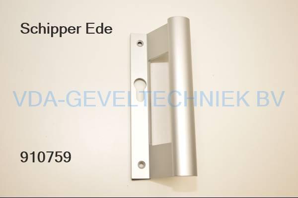Schipper Ede Handgreep rechts schuivend met cilindergat excl. schroeven